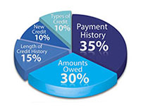 va credit report